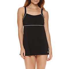 Speedo Piped Sheath Swim Dress