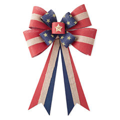 JCPenney Home™ Americana Burlap Bow