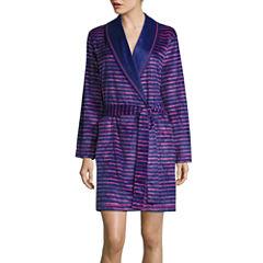 Sleep Chic Long Sleeve Fleece Robe