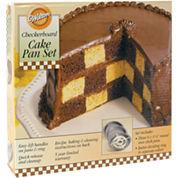 Wilton® Checkerboard Cake Pan Set