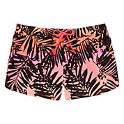 Total Girl® Print Dolphin Shorts - Girls 7-16 and Plus