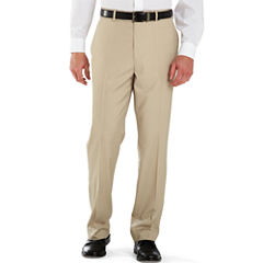 Stafford® Year-Round Flat-Front Pants