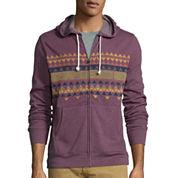 Arizona Long-Sleeve  Printed Fleece Hoodie