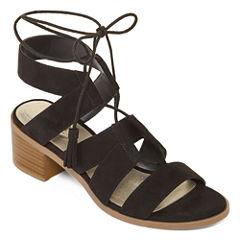 a.n.a Lena Womens Heeled Sandals