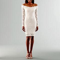 Blu Sage Long Sleeve Wedding Dress