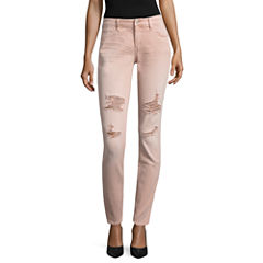 Arizona Rose Quartz Destructed Skinny