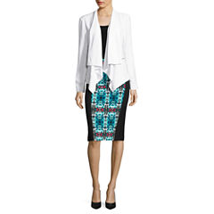 nicole by Nicole Miller Drape Blazer or Pencil Skirt