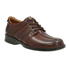 Clarks® Touareg Vibe Mens Leather Oxford Shoes