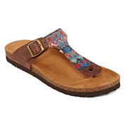 Arizona Summer Footbed T-Strap Sandals