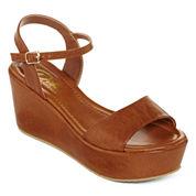 Diba® London Wales Platform Strap Sandals