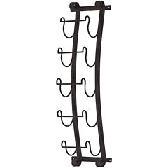 Ancona Wall Mount Wine Rack Wall Decor