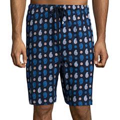 Stafford® Knit Pajama Shorts - Big & Tall