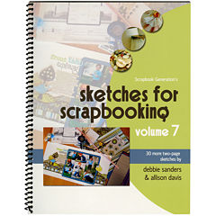 Scrapbook Generation-Sketches for Scrapbooking Volume 7