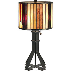 Dale Tiffany™ Geometric Table Lamp