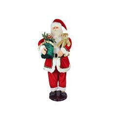 5' Deluxe Traditonal Animated & Musical Dancing Santa Claus