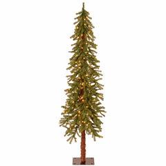 National Tree Co. 6 Foot Hickory Cedar Pre-Lit Christmas Tree