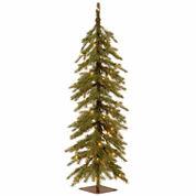 National Tree Co 4 Feet Nordic Spruce Cedar Pre-Lit Christmas Tree