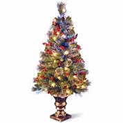 National Tree Co. 4 Feet Crestwood Spruce Pre-Lit Christmas Tree