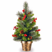 National Tree Co 2 Feet Crestwood Spruce Christmas Tree