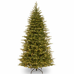 National Tree Co. 7 1/2 Foot Nordice Spruce Slim Pre-Lit Christmas Tree