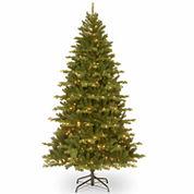 National Tree Co 7 1/2 Feet Sheridan Spruce Pre-Lit Christmas Tree
