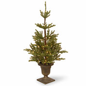 National Tree Co. 4 1/2 Foot Imperial Spruce Entrance Pre-Lit Christmas Tree