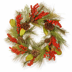 National Tree Co. Holiday Flavor Indoor/Outdoor Christmas Wreath