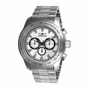 Invicta Mens Silver Tone Bracelet Watch-21794