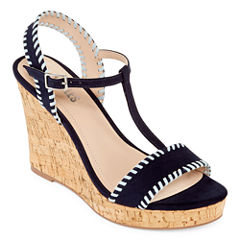 Style Charles Layla Womens Wedge Sandals