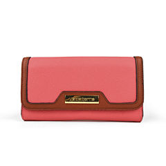 Liz Claiborne Flap Clutch Wallet