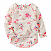 Oshkosh Floral Tunic Top - Preschool