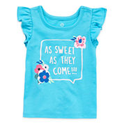 Okie Dokie Graphic T-Shirt-Baby Girls