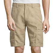 Island Shores Classic Fit Woven Cargo Shorts