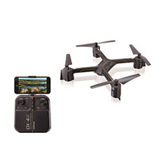 Sharper Image Rechargeable DX-4 Video Drone Streaming Edition