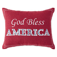 JCPenney Home™ Americana God Bless America Pillow