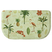 Bacova Guild Floridian Toss Printed Wedge Anti-Fatigue Rugs
