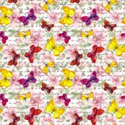 Butterflies Peel and Stick Foam Tiles