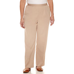 Alfred Dunner Woven Pull-On Pants-Plus