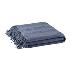 INK+IVY Reeve Ruched Throw