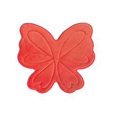 Laura Ashley Butterfly Memory Foam Bath Mat