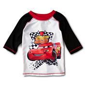 Disney Cars Rashguard - Boys 2-10