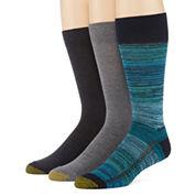 Gold Toe® Mens 3-pk. ProTEC Performance Crew Socks