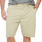 The Foundry Big & Tall Supply Co.™ Flat-Front Shorts