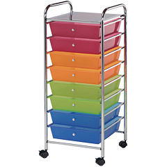 8-Drawer Storage Cart