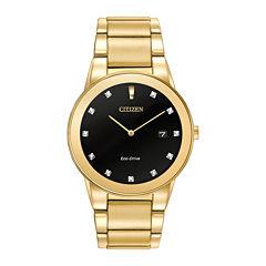 Citizen® Eco-Drive® Axiom Mens Diamond-Accent Watch AU1062-56G