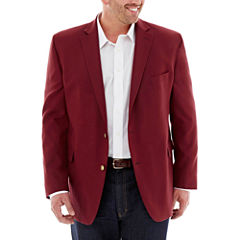 Stafford® Hopsack Sport Coat–Big & Tall