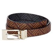 Liz Claiborne® Logo Reversible Belt