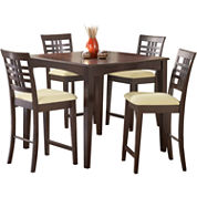 Tiburon 5-pc. Counter-Height Dining Table Set
