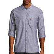 Levi's® Long Sleeve Woven Shirt Chalk