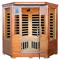Radiant Saunas Hemlock Corner Infrared Sauna